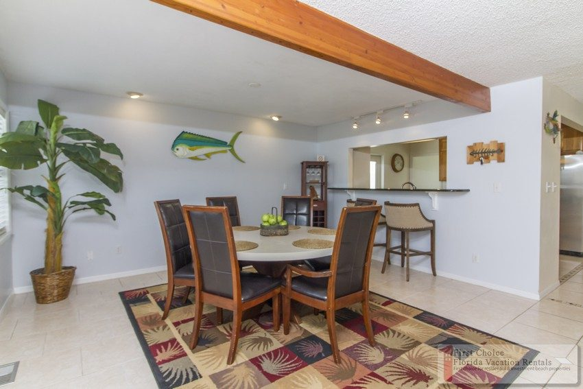 Atlantic Bliss Dining Room to Kitchen