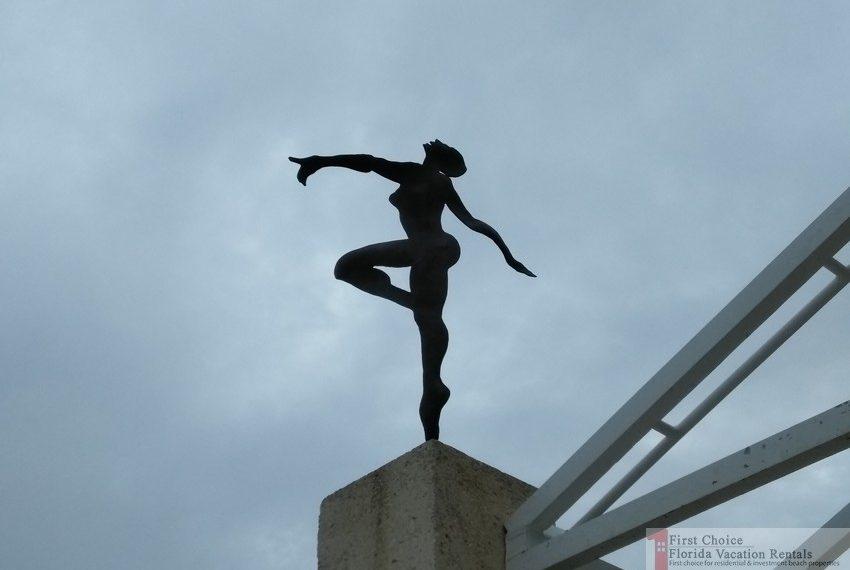 St Augustine Beach Pier Dance Company Ornament