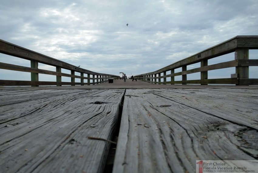 St Augustine Beach Pier On the Pier