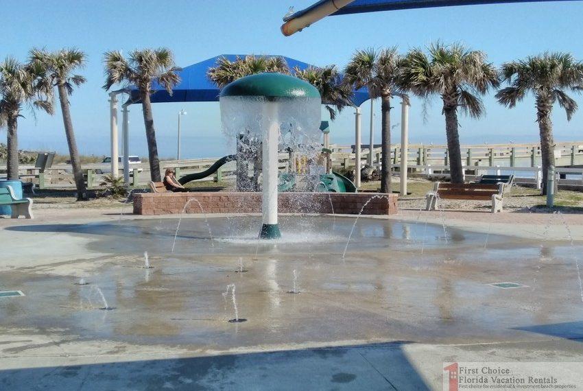 St Augustine Beach Pier Splash Park