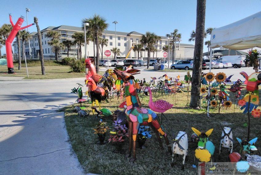 St Augustine Beach Pier Vendor Booth