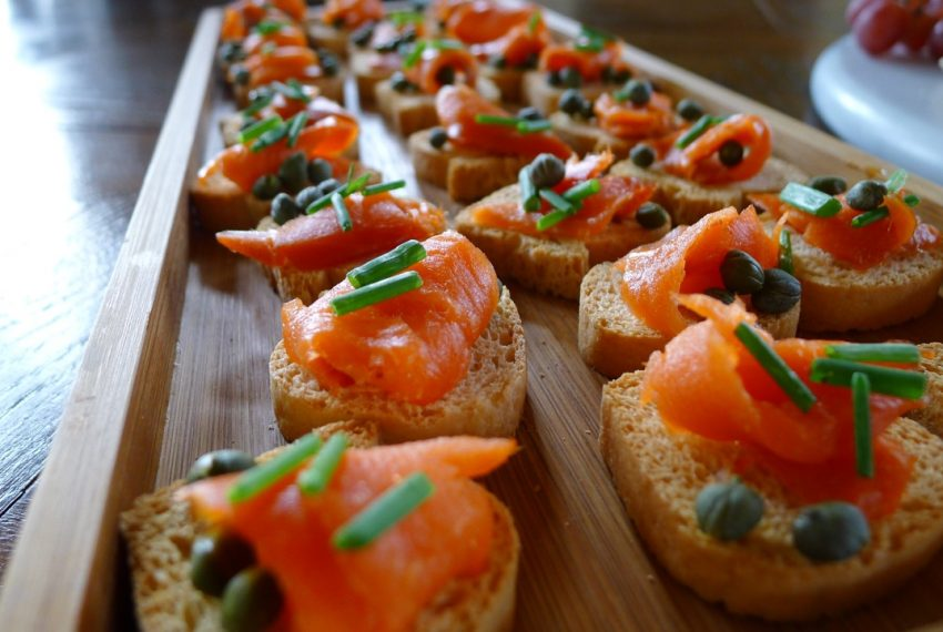 BBs Culinary Creations Home Slider Appetizer Catering