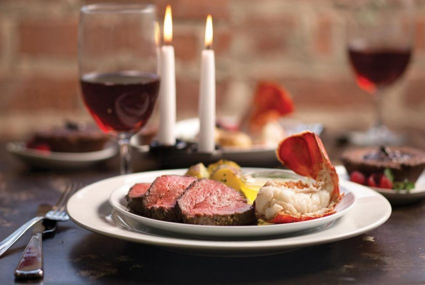 BBs Culinary Creations Home Slider Shrimp and Steak