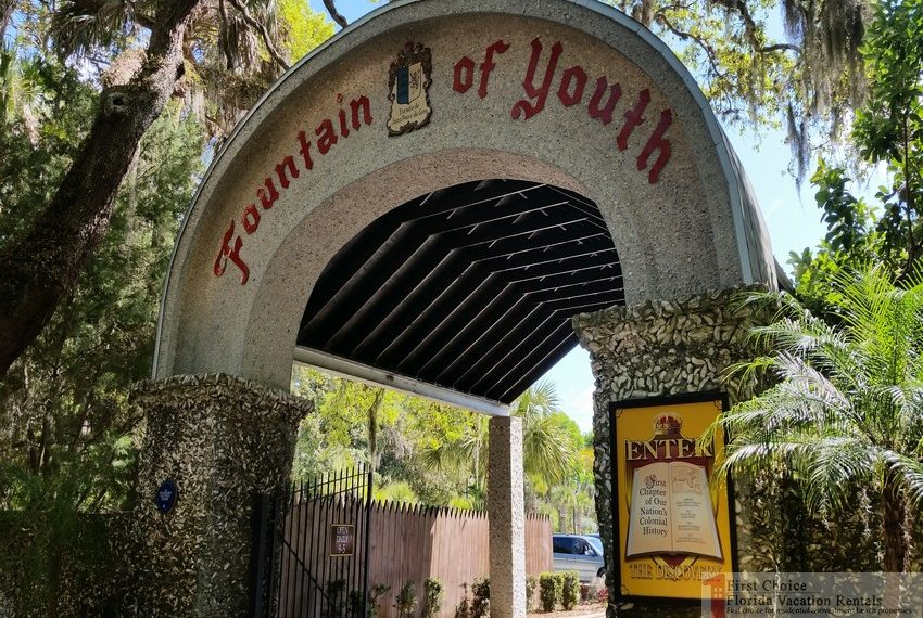 Fountain of Youth Park Entrance