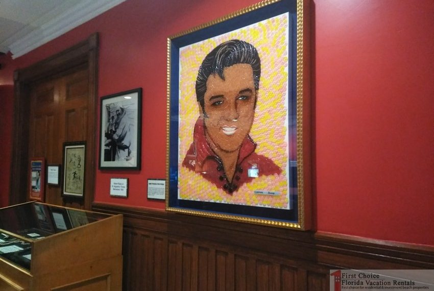 Ripleys Believe it or Not Elvis Presley Mosiac
