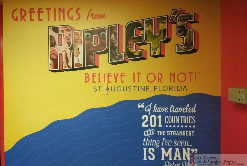 Ripleys Believe it or Not Greetings Sign