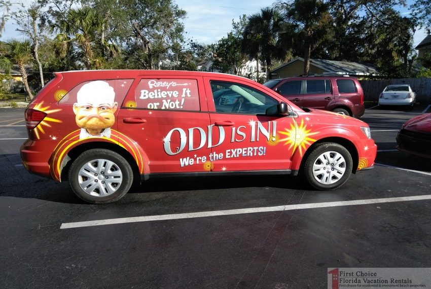 Ripleys Believe it or Not Odd Is In Car