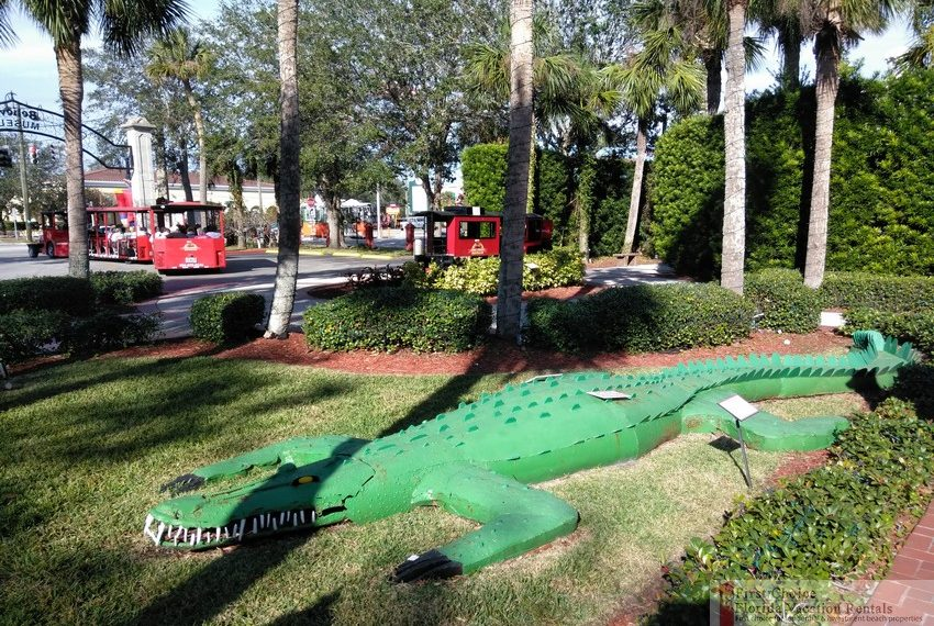 Ripleys Believe it or Not Tire Aligator