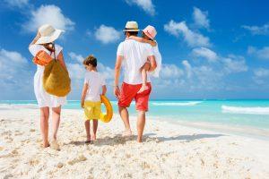 family, vacation, beach, fun, travel