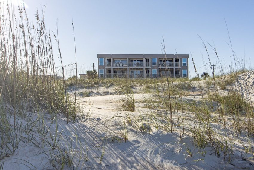 See Ray Shores 302 Building from Beach